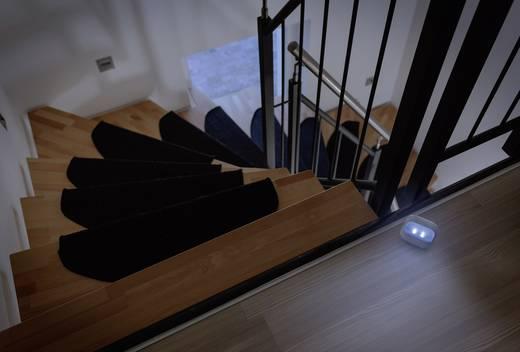 Nachtlicht Oval LED Kalt-Weiß Renkforce Kim N047 Weiß
