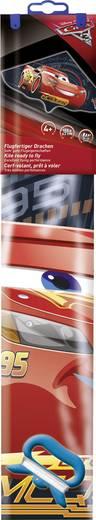 Einleiner Drachen Günther Flugspiele Disney Cars Lightning McQueen Spannweite 1150 mm Windstärken-Eignung 4 - 6 bft