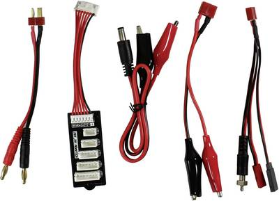 Caricabatterie multifunzione per modellismo 110 V, 220 V, 12 V, 18 V 10 A Absima CTC-1 Touch NiMH, NiCd, LiPo, LiIon, Li