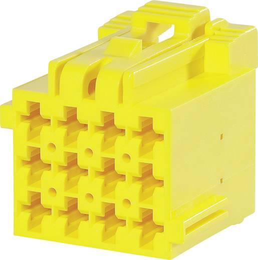 TE Connectivity Buchsengehäuse-Kabel J-P-T Polzahl Gesamt 12 Rastermaß: 5 mm 1-967622-3 1 St.