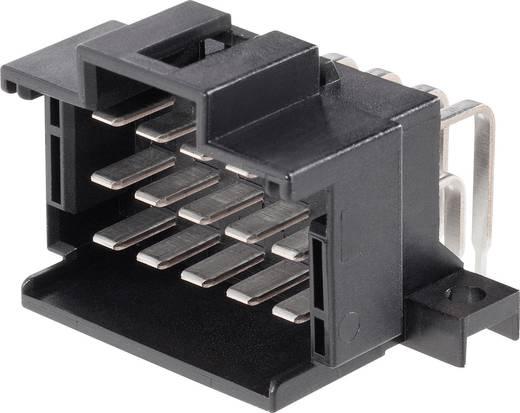 Stiftgehäuse-Platine J-P-T Polzahl Gesamt 21 TE Connectivity 9-966140-6 Rastermaß: 3.50 mm 1 St.