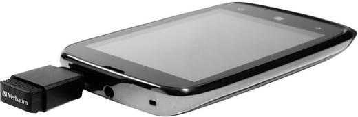 USB-Zusatzspeicher Smartphone/Tablet Verbatim Nano Store N GO Schwarz 8 GB USB 2.0, Micro USB 2.0