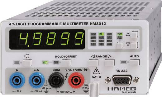 Rohde & Schwarz HM8012 Tisch-Multimeter digital Kalibriert nach: Werksstandard (ohne Zertifikat) CAT II 600 V Anzeige (