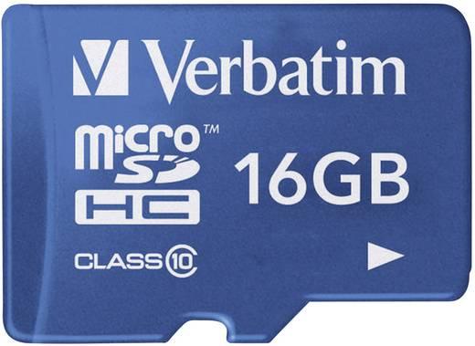 Verbatim Tablet microSDHC-Karte 16 GB Class 10, UHS-I inkl. SD-Adapter
