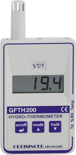 Greisinger GFTH 200 Luftfeuchtemessgerät (Hygrometer) 0 % rF 100 % rF Taupunkt-/Schimmelwarnanzeige Kalibriert nach: Wer