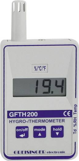 Luftfeuchtemessgerät (Hygrometer) Greisinger GFTH 200 0 % rF 100 % rF Kalibriert nach: Werksstandard