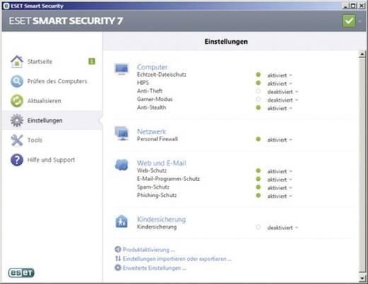 eset smart security 7 vollversion 3 lizenzen windows. Black Bedroom Furniture Sets. Home Design Ideas
