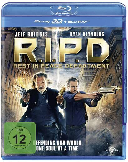 blu-ray 3D R.I.P.D. - Rest in Peace Department (+ 2D Blu-ray) FSK: 12