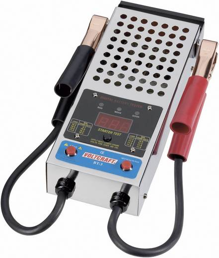 Kfz-Batterietester BT-3 VOLTCRAFT 295 mm x 160 mm x 85 mm