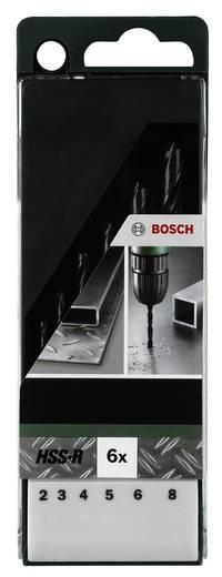 HSS Metall-Spiralbohrer-Set 6teilig Bosch Accessories 2609255029 rollgewalzt DIN 338 Zylinderschaft 1 Set