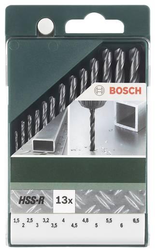 HSS Metall-Spiralbohrer-Set 13teilig Bosch Accessories 2609255031 rollgewalzt DIN 338 Zylinderschaft 1 Set