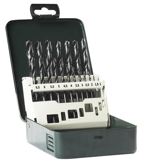 HSS Metall-Spiralbohrer-Set 19teilig Bosch Accessories 2609255032 rollgewalzt DIN 338 Zylinderschaft 1 Set
