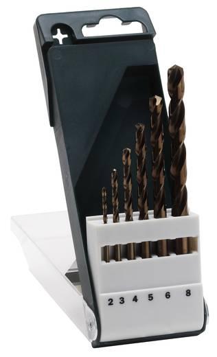 HSS Metall-Spiralbohrer 6teilig Bosch Accessories 2609255087 Cobalt Zylinderschaft 1 Set