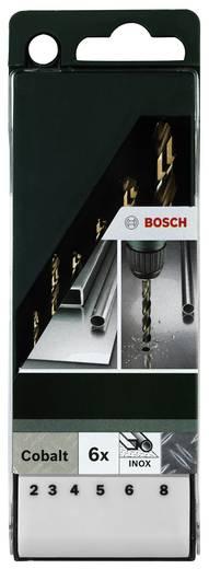 HSS Metall-Spiralbohrer 6teilig Bosch Accessories 2609255087 Cobalt DIN 338 Zylinderschaft 1 Set