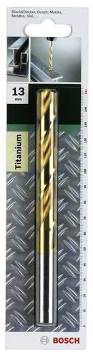 HSS Metall-Spiralbohrer 13 mm Bosch Accessories 2609255112 Gesamtlänge 151 mm TiN DIN 338 Zylinderschaft 1 St.