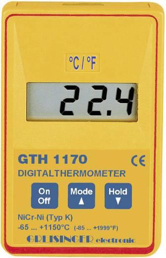 Greisinger GTH 1170 Temperatur-Messgerät -65 bis +1150 °C Fühler-Typ K Kalibriert nach: Werksstandard (ohne Zertifikat)