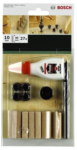 Dübelset Bosch Accessories 40 mm 8 mm 2609255306 32 St.