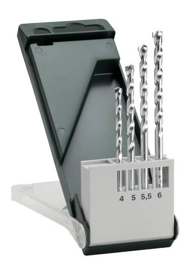 Stein-Spiralbohrer-Set 4teilig Bosch Accessories 2609255459 Zylinderschaft 1 Set