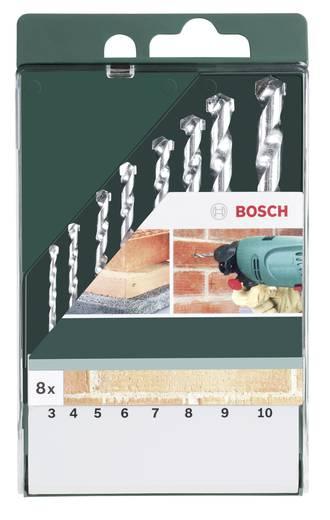 Stein-Spiralbohrer-Set 8teilig Bosch Accessories 2609255462 Zylinderschaft 1 Set