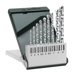 Sada špirálových vrtákov do kameňa Bosch Accessories 2609255463, 3 mm, 4 mm, 5 mm, 5.5 mm, 6 mm, 6.5 mm, 7 mm, 8 mm, 10 mm, N/A, 1 sada