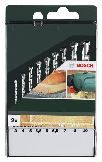 Stein-Spiralbohrer-Set 9teilig 3 mm, 4 mm, 5 mm, 5.5 mm, 6 mm, 6.5 mm, 7 mm, 8 mm, 10 mm Bosch Accessories 2609255463