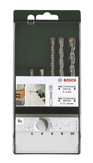 Hammerbohrer-Set 5teilig Bosch Accessories 2609255542 SDS-Plus 1 Set