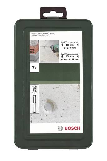 Hammerbohrer-Set 7teilig Bosch Accessories 2609255543 SDS-Plus 1 Set