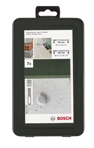 Hammerbohrer-Set 7teilig Bosch Accessories 2609255544 SDS-Plus 1 Set