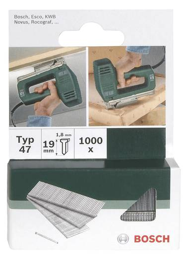 Nagel Typ 49 1000 St. Bosch Accessories 2609255814