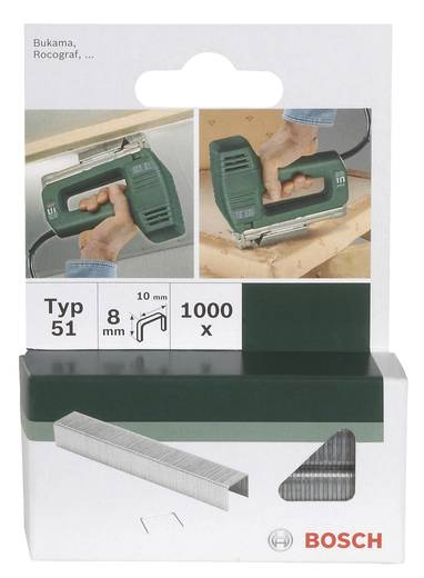 Klammer Typ 51 1000 St. Bosch Accessories 2609255832