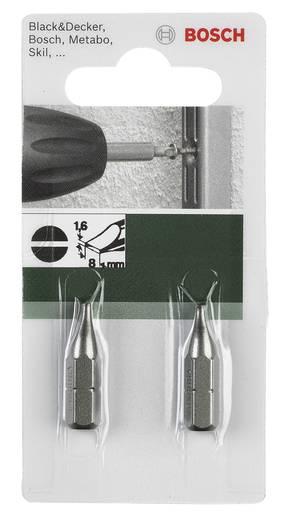 Schlitz-Bit 4.5 mm Bosch Accessories C 6.3 2 St.