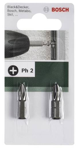 Kreuzschlitz-Bit PH 3 Bosch Accessories C 6.3 2 St.