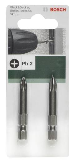 Kreuzschlitz-Bit PH 2 Bosch Accessories E 6.3 2 St.