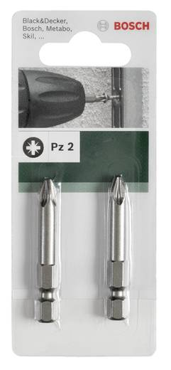 Kreuzschlitz-Bit PZ 2 Bosch Accessories E 6.3 2 St.