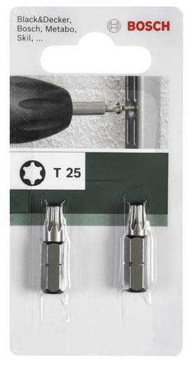 Torx-Bit T 25 Bosch Accessories C 6.3 2 St.