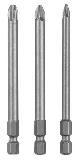 Kreuzschlitz-Bit PZ 1, PZ 2, PZ 3 Bosch Accessories E 6.3 3 St.