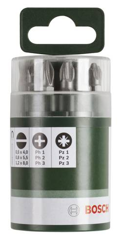 Image of Bit-Set 10teilig Bosch Accessories 2609255976 Innen-TORX