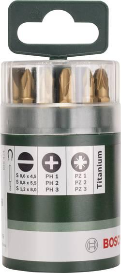 Image of Bit-Set 10teilig Bosch Accessories 2609255978 Schlitz, Kreuzschlitz Phillips, Kreuzschlitz Pozidriv