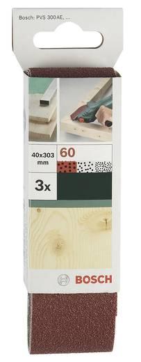 Schleifband Körnung 80 (L x B) 303 mm x 40 mm Bosch Accessories 2609256183 3 St.