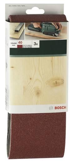 Schleifband Körnung 80 (L x B) 610 mm x 100 mm Bosch Accessories 2609256226 3 St.