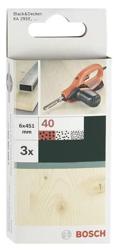 Schleifband Körnung 40 (L x B) 451 mm x 6 mm Bosch Accessories 2609256234 3 St.