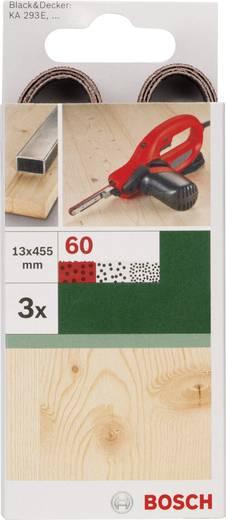 Schleifband Körnung 60 (L x B) 455 mm x 13 mm Bosch Accessories 2609256238 3 St.
