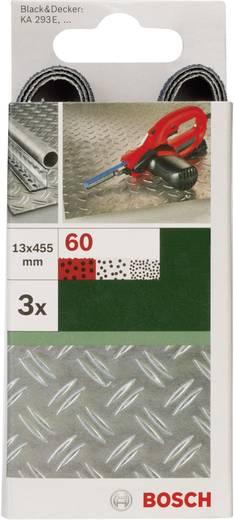 Schleifband Körnung 40 (L x B) 455 mm x 13 mm Bosch Accessories 2609256240 3 St.