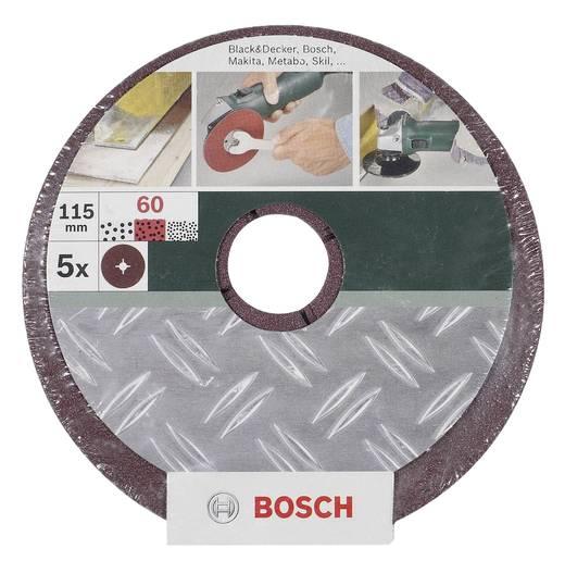 Schleifpapier für Schleifteller Körnung 36, 60, 100 (Ø) 115 mm Bosch Accessories 2609256248 1 Set