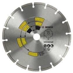 Diamantový rezací kotúč univerzálny D = 125 mm Bosch Accessories 2609256401, Priemer 125 mm, Vnútorný Ø 22.23 mm, 1 ks