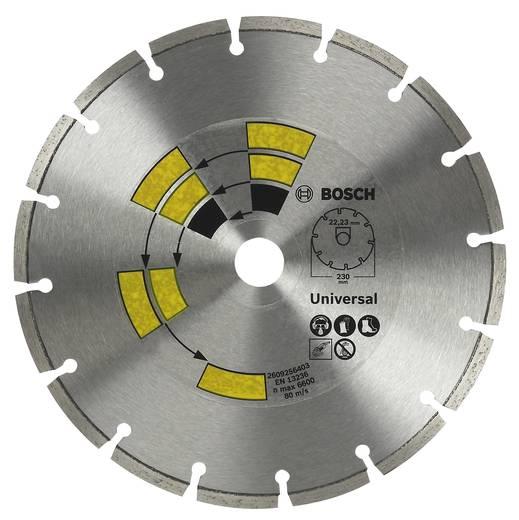 Diamanttrennscheibe Universal Bosch Accessories 2609256401 Durchmesser 125 mm Innen-Ø 22.23 mm 1 St.