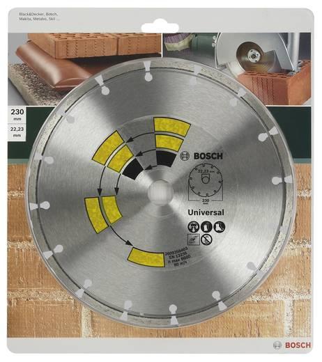 Diamanttrennscheibe Universal Bosch Accessories 2609256403 Durchmesser 230 mm Innen-Ø 22.23 mm 1