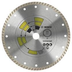 Diamantový rezací kotúč Universal Turbo D = 115 mm Bosch Accessories 2609256407, Priemer 115 mm, Vnútorný Ø 22.23 mm, 1 ks