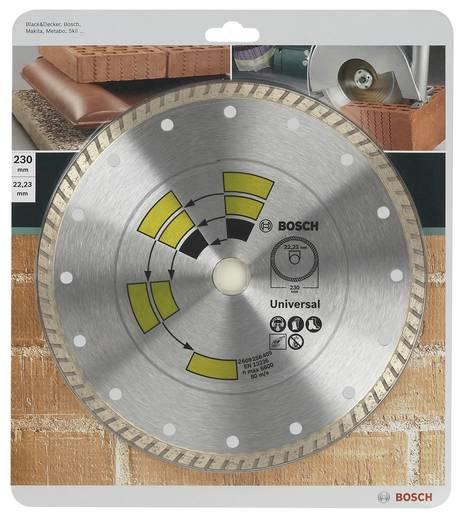 Diamanttrennscheibe Universal Turbo Bosch Accessories 2609256409 Durchmesser 230 mm Innen-Ø 22.23 mm 1