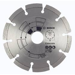 Diamantový kotúč na rezanie betónu D = 115 mm Bosch Accessories 2609256413, Ø 115 mm, vnútorný Ø 22 mm, 1 ks